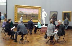 Art4Reflection, Reflexion im Museum