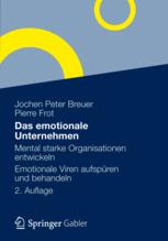 Das emotionale Unternehmen, Buchcover